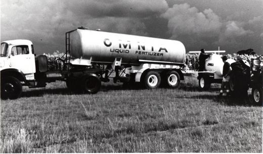 Omnia's liquid fertilizer